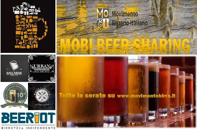 Serata Beer sharing con Mo.Bi. tema Birrifici locali